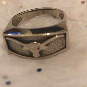 Texas Longhorn ring size 7